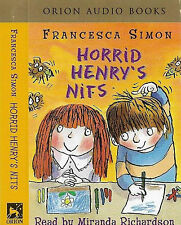 FRANCESCA SIMON HORRID HENRY'S NITS CASSETTE READ BY MIRANDA RICHARDSON audiobk