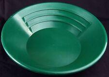 Goldwaschpfanne KEENE SP14 - grün - 35 cm - Goldwaschen Gold Waschpfanne USA