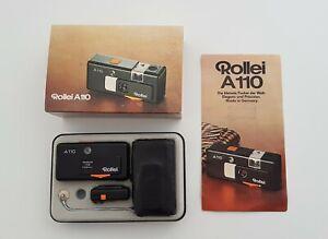 Rollei A110 Kamera Camera Pocket mit Zubehör in Originalverapckung