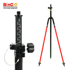 Carbon Fibre Pole 2.5m W Bipod Surveying GNSS GPS RTK Total Station Prism