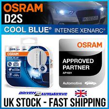 2 x GENUINE OSRAM D2S PAIR HID UPGRADE XENARC 35W 5500K ROAD LEGAL 20% BRIGHTER