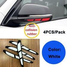 4x White Car Door Edge Guard Strip Scratch Protector Anti-collision Trim Sticker