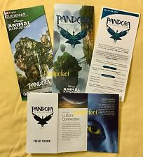 Disney Pandora World of Avatar Opening Map Time Field Guide 2017 Animal Kingdom