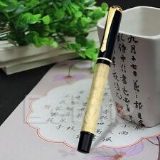 Hot BAOER 507 Brass EIGHT HORSES Medium Nib FOUNTAIN Pen