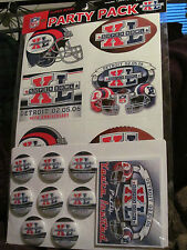 Super Bowl XL party-AFC vs NFC-Pittsburgh Steelers-Seattle Seahawks year 2006!