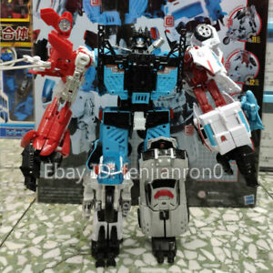 Transformer Defensor 6in1 G1 Autobot IDW Comic Robot Car Kid Gifts Toys NO BOX