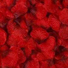 1000 Silk Artificial Rose Petals,Flower Petals Romantic,Valentines, SAME DAY Pp!