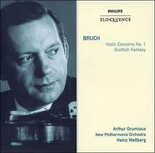 Bruch: Violin Concerto No. 1; Scottish Fantasy (CD, Oct-2007, Philips)