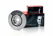 Brembo OE Brake Rotor Pair Front 09.8681.11 fits Mercedes-Benz B-Class B 180 ...
