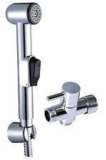 "Toilet Bidet Spray Jet Hygienic Wash Shower Head Handheld Set 7/8""adapter L501"