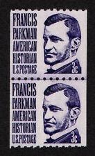 USA, SCOTT # 1297, LINE PAIR OF FRANCIS PARKMAN, SHINY GUM, MNH, FREE SHIPPING