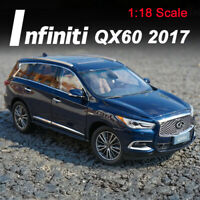1:18 Scale 2017 Infiniti QX60 SUV Diecast Car Model Collections Royal Blue