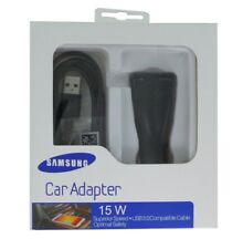 cargador rápido Samsung Note 4 coche cargador de coche EP-LN915U Bundle incl. ca