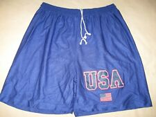 USA Vintage Shorts Mens XL Guys US Basketball 90s
