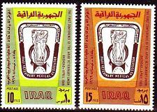Irak Iraq 1969 ** Mi.546/47 Veterinär Medizin Veterinary Medicine