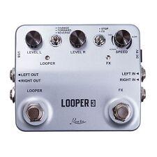 Efectos de Guitarra Pedal LOOPER Grabación de Sonido True Bypass con Cable USB