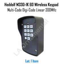 Heddolf M330-1K 60 Wireless Keypad  Multi-Code Digi-Code Linear 300 MHz