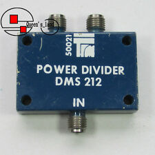 1×Used TRM DMS212 12.4-18GHz 30W SMA 2-Way Octave Power Divider Splitter