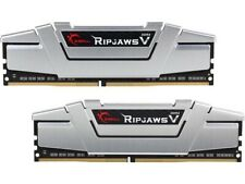 16GB G.Skill DDR4 PC4-19200 2400MHz Ripjaws V CL15 Dual kit 2x8GB 1.20V Silver