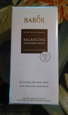 Babor Balancing Cashmere Wood Soothing Shower Milk 200 ml NEW IN BOX