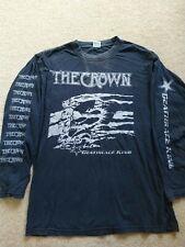 More details for the crown death race king longsleeve vintage rock metal tshirt entombed dismembe