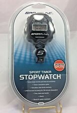 Sportline Sport Timer Stopwatch Water and Shock Resistant  New without tags