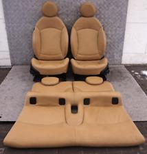 BMW Mini R57 Cabrio Convertible Sport Tuscan Piel Beige Calentado Asientos