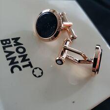 Montblanc Cufflinks - Rose Gold