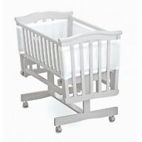 Breathable Baby Airflow Mesh Baby 2 / 4 Sided Crib / Cot / Cotbed Liner Bumper