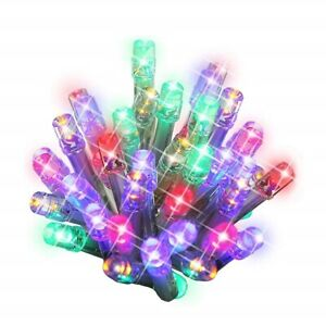 100/ 200 LED  Christmas Lights String Chaser Christmas Lights  Festive Xmas Tree