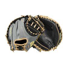 2021 A2000 Wilson WBW100116335 M1D RHT 33.5 Spin Control Baseball Catchers Mitt