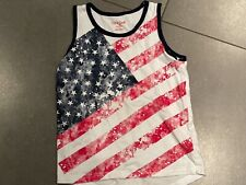 New listing Cat & Jack Usa American Flag Tank Top Size 4-5T