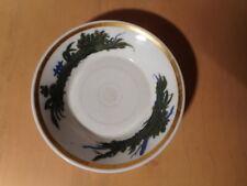 Sous coupe ancienne porcelaine Paris début 19 XIX siècle ceramique française