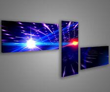 Quadri moderni astratti 180 x 70 stampe su tela canvas con telaio MIX-S_48