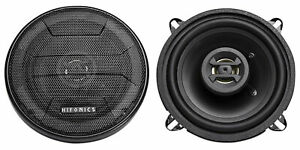 Pair Hifonics Zeus ZS525CX 5.25 Inch 400 Watt Coaxial 2 Way Car Speakers