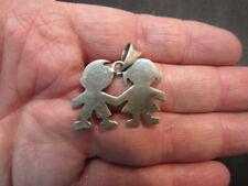sterling silver children  pendent