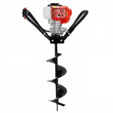"""XtremepowerUS 43cc Gas Posthole Digger One Man Fence Hole Auger w/ 8"""" inch Bit"""