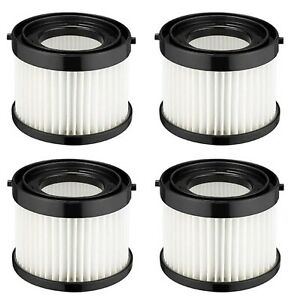 Milwaukee 49-90-0160 4 PK Casa Replacement Filter for 0882-20 M18 Compact Vacuum