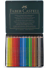 Faber Castell Polychromos Pencils 24 Colour Tin.