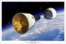 Gemini VI and VII Rendezvous Art Print