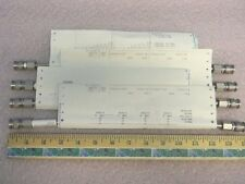 (4) 14 Inch Precision TNC DC-18GHz RF Coaxial Hard-Line TNC(m)-(m)