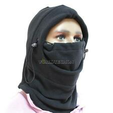 Hot 6 in 1 Thermal Fleece Balaclava Hood Police Swat Ski Bike Wind Stopper Mask