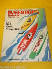 INVESTORS CHRONICLE - HOLIDAY COMPANIES - MARCH 24 1989