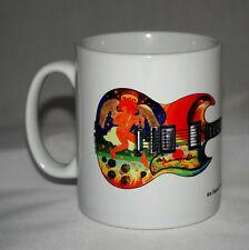 Guitar Mug. Eric Clapton's Gibson SG Fool Guitar illustration.