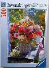 500 pc Belle Fleurs Ravensburger Puzzle £ 6.99