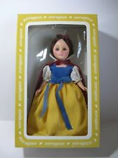 Vintage Effanbee 11 Inch Snow White Doll #1180 Storybook Collection In Box