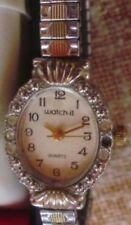 Reloj Watch-it Quartz para señora, correa de acero inoxidable, Japan Movement