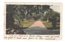 CANADA Halifax Nova Scotia 1905 antique post card Public Gardens View