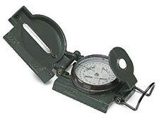 Gelert Deluxe Military Lensatic Compass Durable Metal Case Walking Hiking NEW