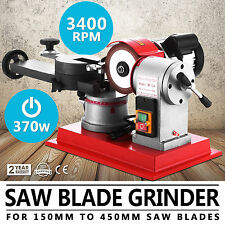 370W Saw Blade Grinder Sharpener Machine Copper Core Mill Grind 125mm Circular